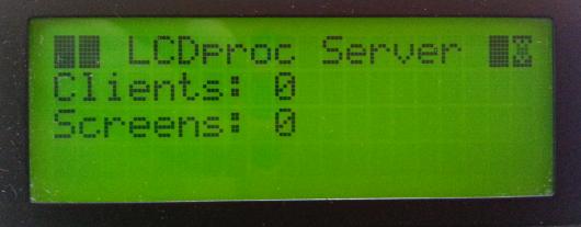 Instalacja LCDproc w ubuntu