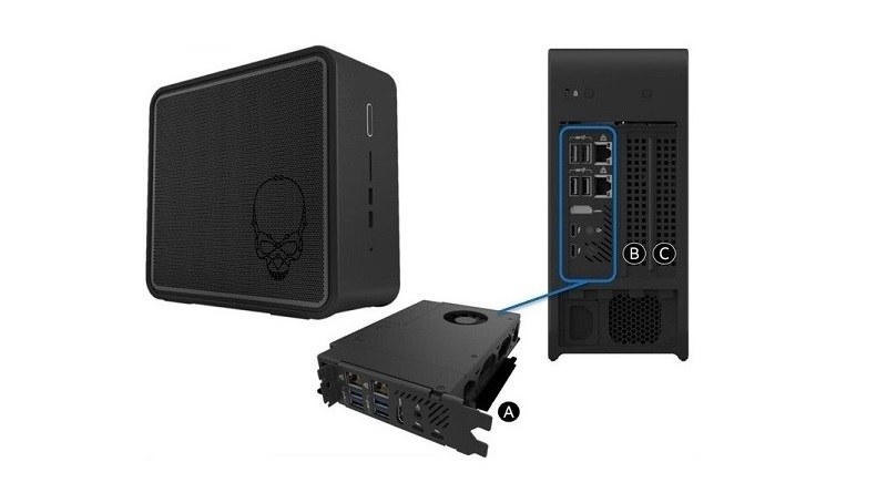Intel Element – new NUC with Ghost Canyon processor