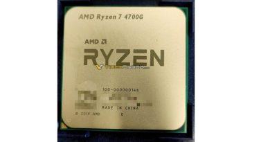 Pierwsze zdjęcie AMD Ryzen 7 4700G