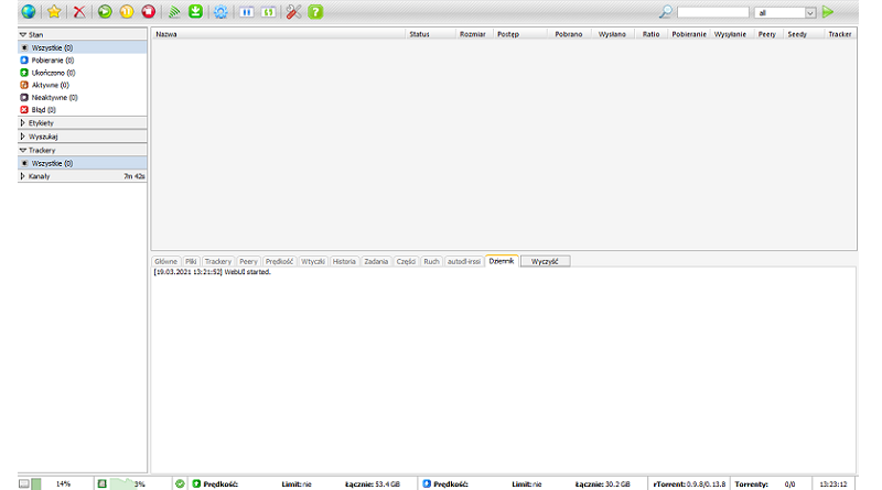 Instalacja rTorrent + ruTorrent na ubuntu 20.04